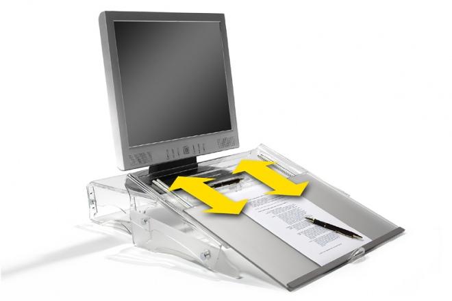 FlexDesk 640, Vorlagenhalter und Schreibpult