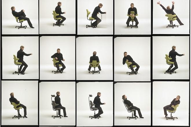 Variation und Bewegung: Die nächste Sitzposition ist immer die Beste