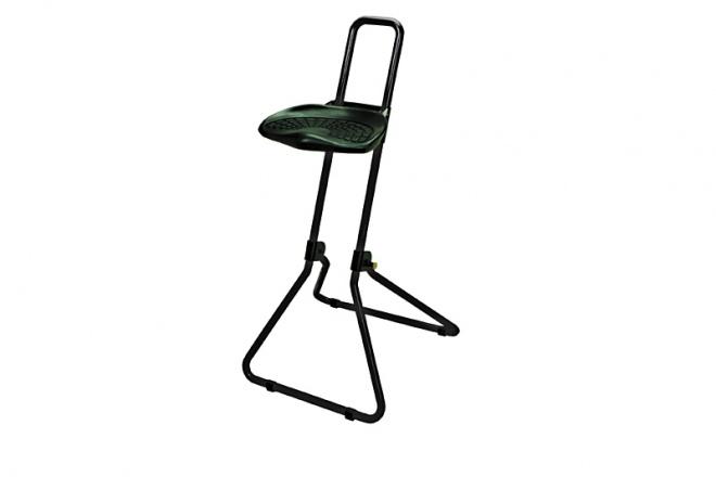 SK100 Gestell schwarz, PU-Sitz schwarz