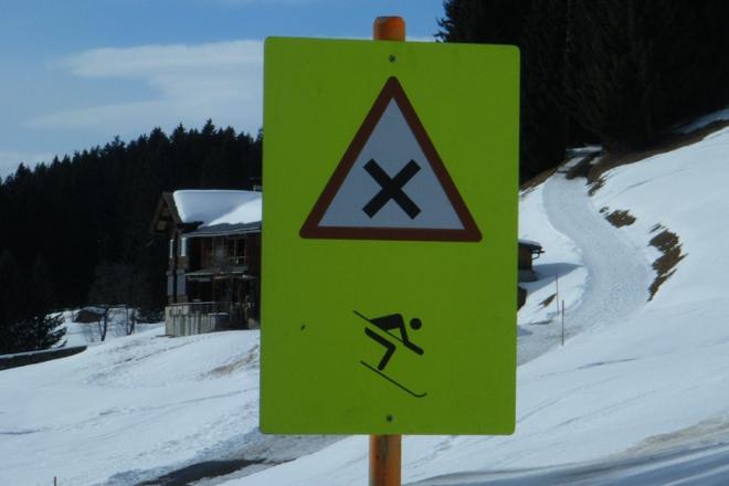 Schnee in der Schweiz