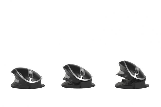 Oyster Vertikalmaus wireless, Winkelungen 20, 30 und 40 Grad