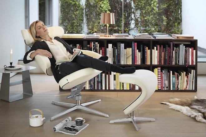 Entspannen im Sessel Peel
