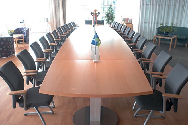 Auch lange Konferenzen werden ermüdungsfrei gemeistert